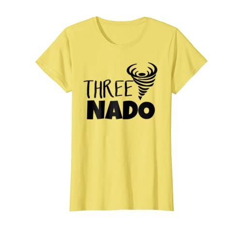 a2c7b9a4 Amazon.com: Threenado T-Shirt - Three Tornado Funny Toddler: Clothing