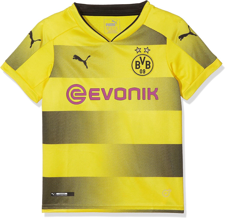 PUMA Borussia Dortmund 2017 Junior 18 Home Shirt Max 45% OFF Max 42% OFF