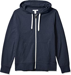 Amazon Essentials Men's Lightweight French Terry Full-Zip Hooded Sweatshirt