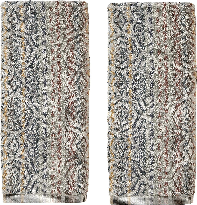 SKL Home by Saturday Knight Ltd. Rhapsody Hand Towel Set, 16x26, Spice