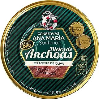 comprar comparacion Filetes de Anchoas en Aceite de Oliva - Ana María - Santoña - Cantabria