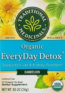 Traditional Medicinal Everyday Detox Dandelion,16 Teabags