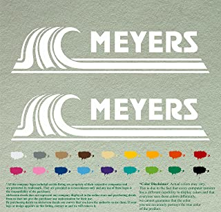 Pair of Meyers Boats Outboards Decals Vinyl Stickers Boat Outboard Motor Lot of 2 (12