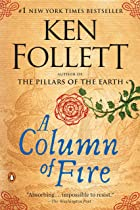 Cover image of A Column of Fire by Ken Follett