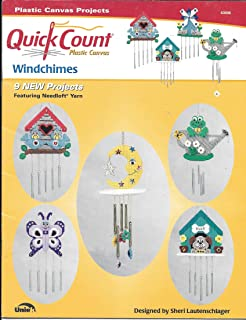 Quick Count Windchimes (Plastic Canvas Projects) -- 9 New Projects Featuring Needloft Yarn