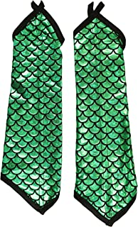 Adult Halloween Costume Accessory - Mermaid Arm Sleeves