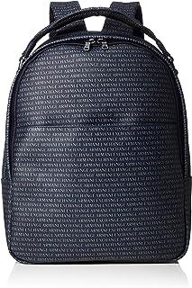 Men Backpack Logo Armani Exchange Navy