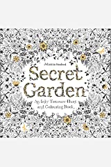 Secret Garden: An Inky Treasure Hunt and Coloring Book (For Adults, mindfulness coloring) Taschenbuch