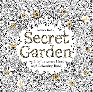 Best Secret Garden: An Inky Treasure Hunt and Coloring Book (For Adults, mindfulness coloring) Reviews