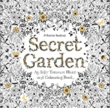 Secret Garden: An Inky Treasure Hunt and Coloring Book (For Adults, mindfulness coloring) PDF