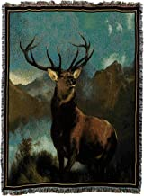 "Pure Country Weavers ""Monarch of the Glen Blanket"" Tapestry"