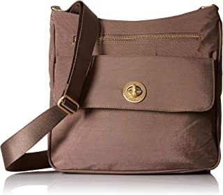 Baggallini womens Antalya Top Zip Flap Crossbody