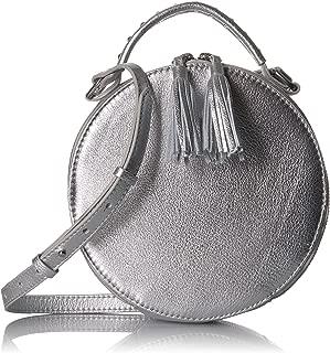 Amazon Brand - The Fix Hampton 2 Crossbody Leather Circle Bag
