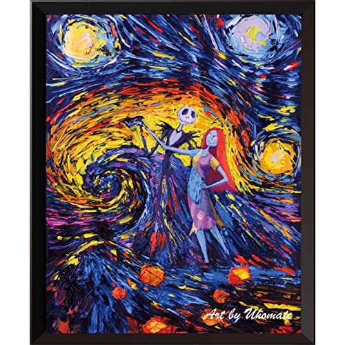 Tim Burton Nightmare Before Christmas Artwork.Tim Burton Art Amazon Com