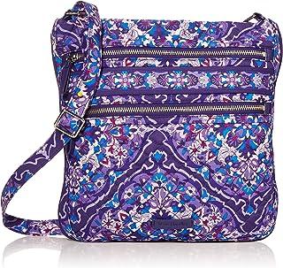 Best Vera Bradley Signature Cotton Triple Zip Hipster Crossbody Purse Handbag Review
