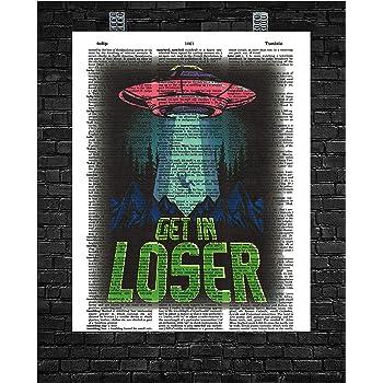 Area 51 Poker Motivational Poster Art Print Texas Holdem Focus College Dorm Room