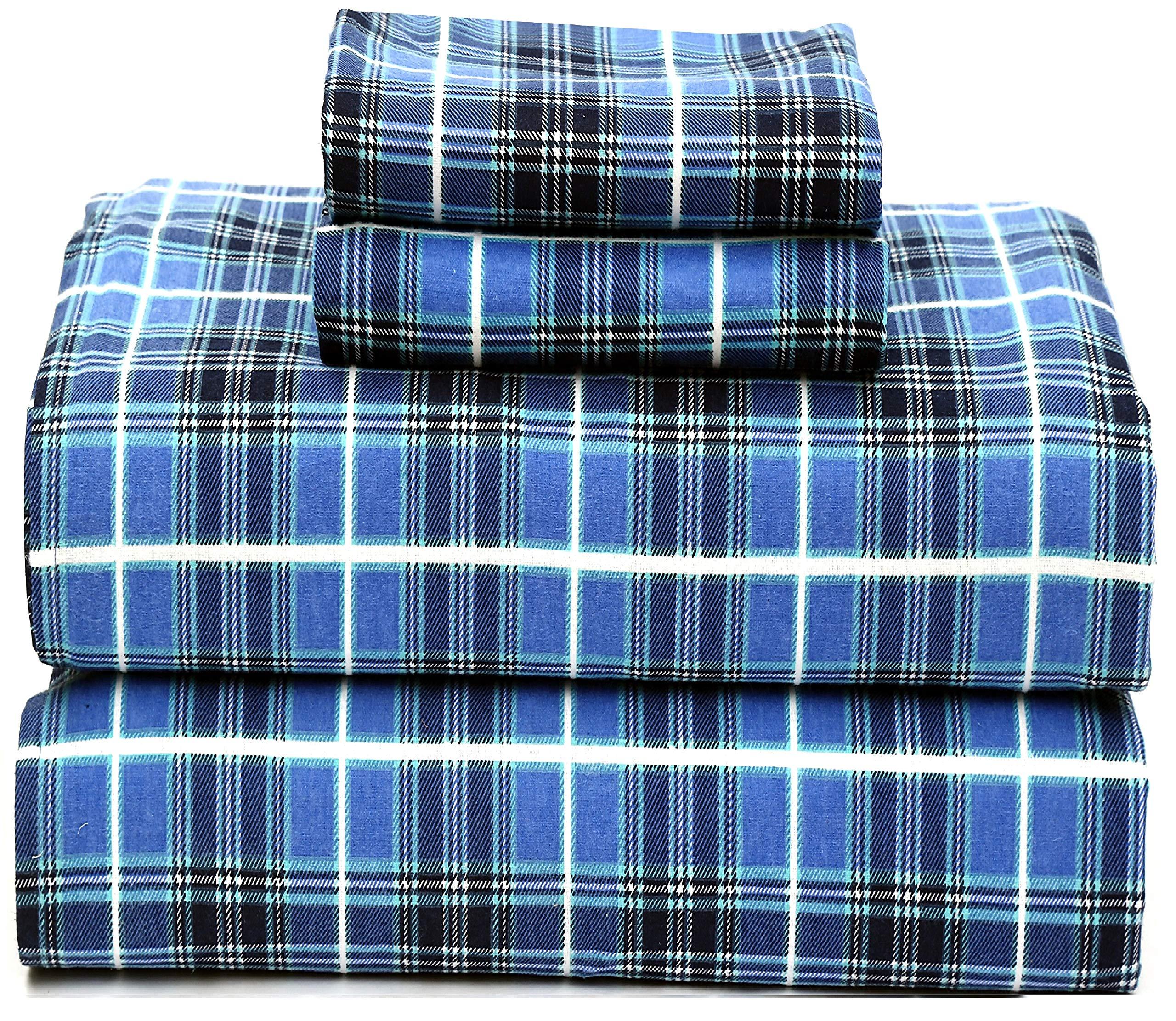 Ruvanti Cotton Piece Flannel Sheets
