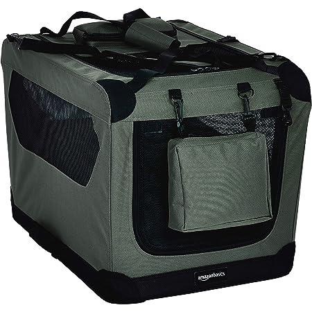 Amazon Basics Premium Folding Portable Soft Pet Dog Crate Carrier Kennel