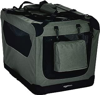 AmazonBasics Premium Folding Portable Soft Pet Crate