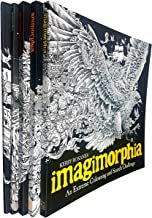 An Extreme Colouring and Search Challenge Series 5 Books Collection Set (Mythomorphia, Fantomorphia, Geomorphia, Animorphia, Imagimorphia)