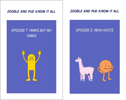 Zooble and Pud: Know it All (2 Book Series)
