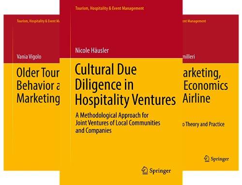 Tourism, Hospitality & Event Management (11 Book Series)