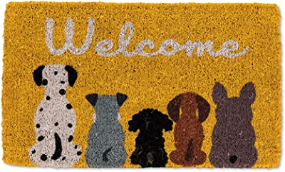 Abbott Collection 35-FWD/GE 7596 Canada Flag Welcome Dogs