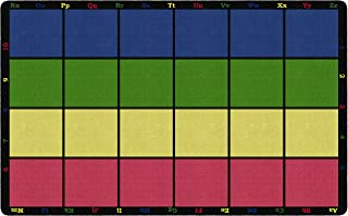 Best colored square classroom rug Reviews