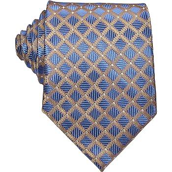 Black Gray Yellow New Classic Paisley JACQUARD WOVEN Silk Men/'s Tie Necktie