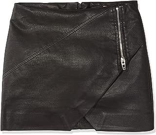 Big Girl's Vegan Leather Skirt Skirt