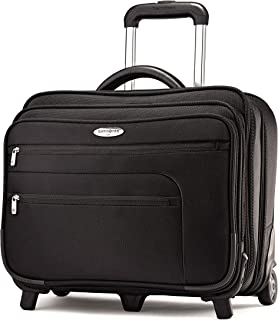 Samsonite Wheeled Business Case with Removable Computer Sleeve, Black, One Size