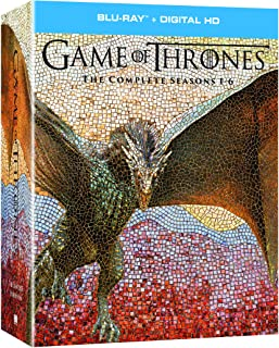 Game of Thrones: The Complete Seasons 1-6 + Digital HD [Blu-ray]