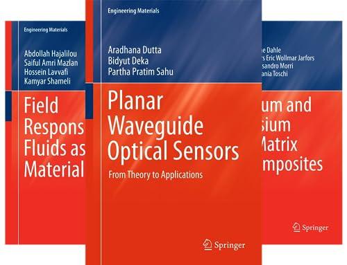 Engineering Materials (51-97) (47 Book Series)