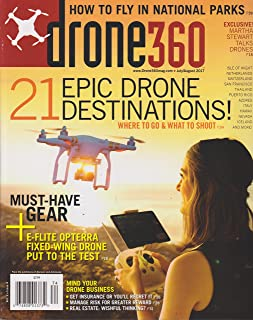 Drone 360 Magazine July/August 2017