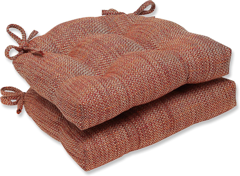 Pillow Perfect Tweak Sedona Reversible Chair Pad, Set of 2