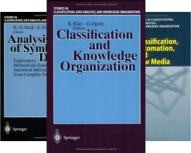 Studies in Classification, Data Analysis, and Knowledge Organization (39 Book Series)