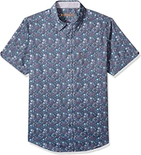 Ben Sherman Men's Ss Tonal Flrl Print Shirt