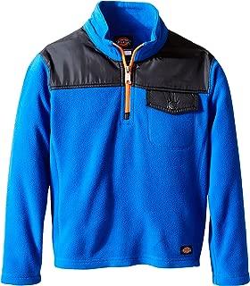 Dickies Big Boys' Quarter Zip Performance Fleece Jacket