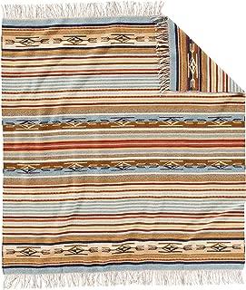 Pendleton Chimayo Fringed Wool Throw Blanket - Harvest