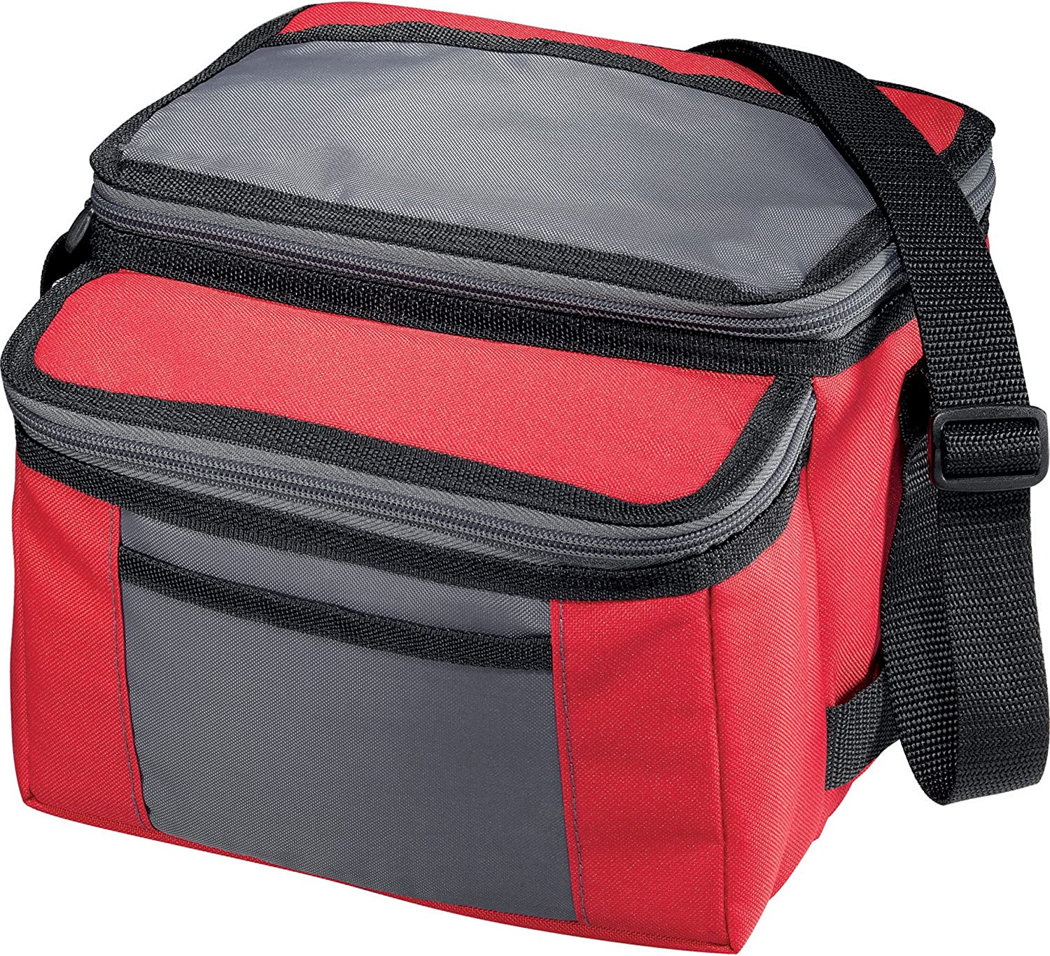 California Innovations Outdoor Sport 9Can Collapsible Cooler, Red