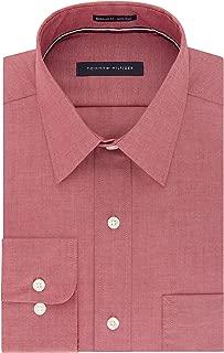 Men's Dress Shirt Regular Fit Non Iron Solid