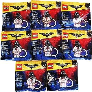 LEGO Party Favors/Party Treats BATMAN MOVIE Kiss Kiss Tuxedo Key Chain Polybags Bundle of 8