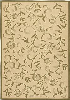 Safavieh Martha Stewart Collection MSR4251-14 Cream and Green Area Rug (6'7