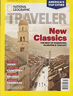 National Geographic Traveler February/March 2018 New Classics - The Best of Dubrovnik, Glasgow & Tuscany