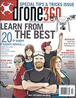 Drone 360 Magazine (September/October 2016)