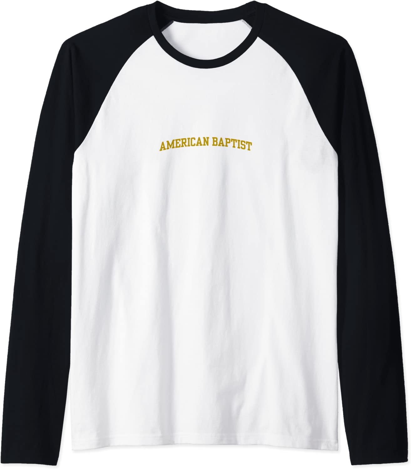 Free shipping on posting reviews Today's only American Baptist College Baseball Tee Raglan