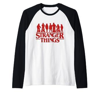 Amazon.com: Netflix Stranger Things 3 Kids & Bikes Raglan ...
