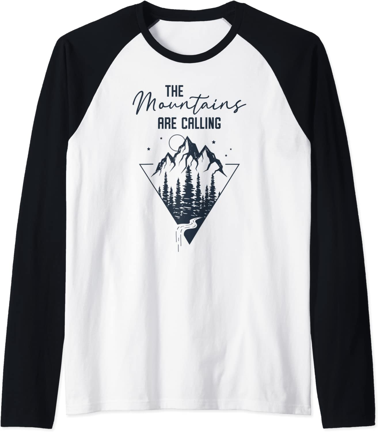 The Mountains Are Calling Sales results Discount mail order No. 1 - Adventure Vintage Baseb Retro Raglan