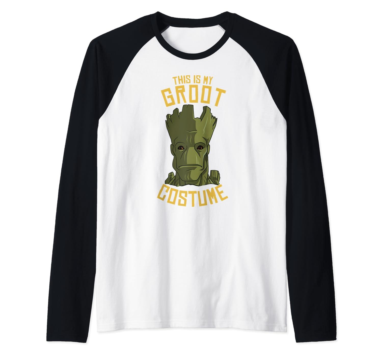 Guardians Of The Galaxy Groot Costume Halloween Baseball Shirts