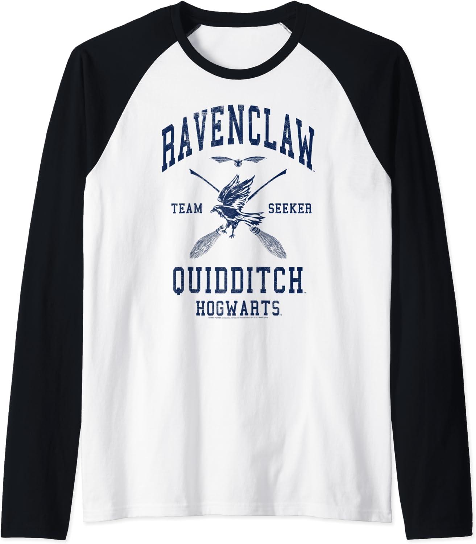 Harry Potter Ravenclaw Quidditch Team Seeker Raglan Baseball Tee
